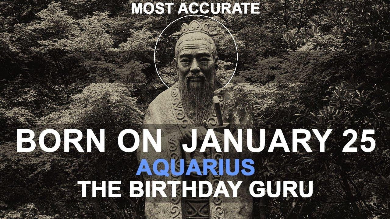 born on january 25 astrology