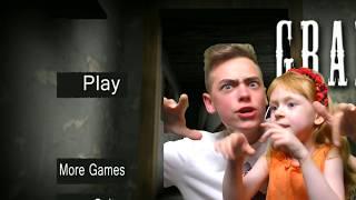 КЛОНЫ БАБУЛЬКИ GRANNY ИХ МИЛЛИОНЫ Дима и София играют на канале GAMES FACTORY