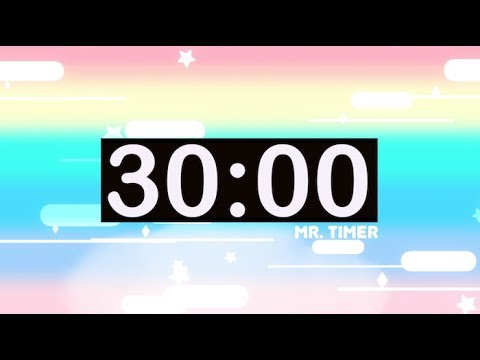 30 Minute Countdown Timer with Music for Kids