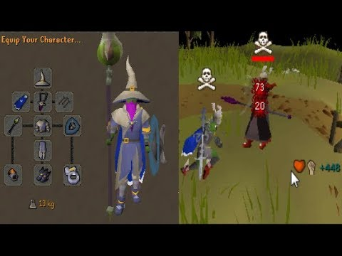 PKing in MAX Gear 1 Last Time on Runescape (300M+ Risk)