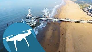 SCHEVENINGEN by drone - The Hague, Netherlands