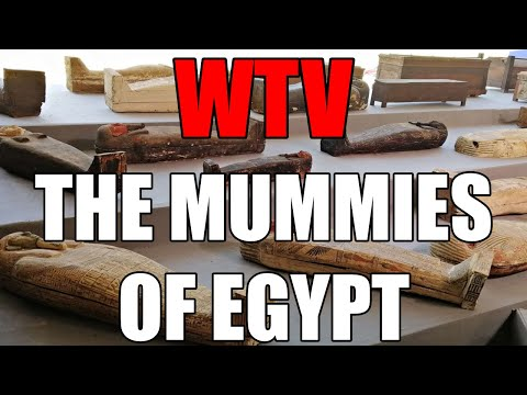 What You Need To Know About The MUMMIES Of EGYPT