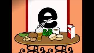 Aden sings E eats everything