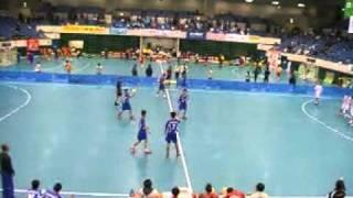 2011JOCハンドボール男子準決勝 名古屋-富山①