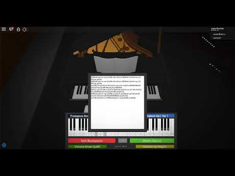 Roblox Piano Sheets Fur Elise Youtube