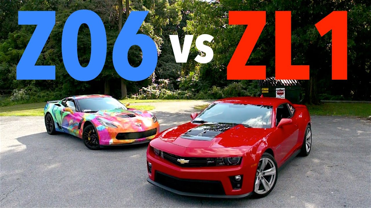 Corvette Z06 Vs Camaro Zl1 Youtube