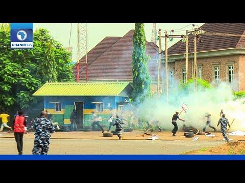 Democracy Day: Police Attack Protesters In Abuja