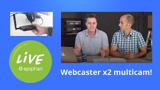 Webcaster X2 multicam + 25 Live Streaming Tips