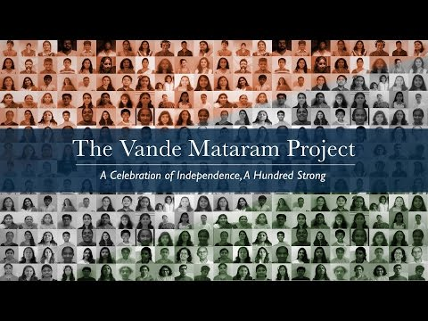 Vande Mataram Project : 100 musicians from 50 cities sing together!