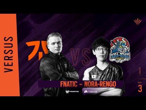 Fnatic vs Nora-Rengo // Rainbow Six APAC North Division - Playday #3