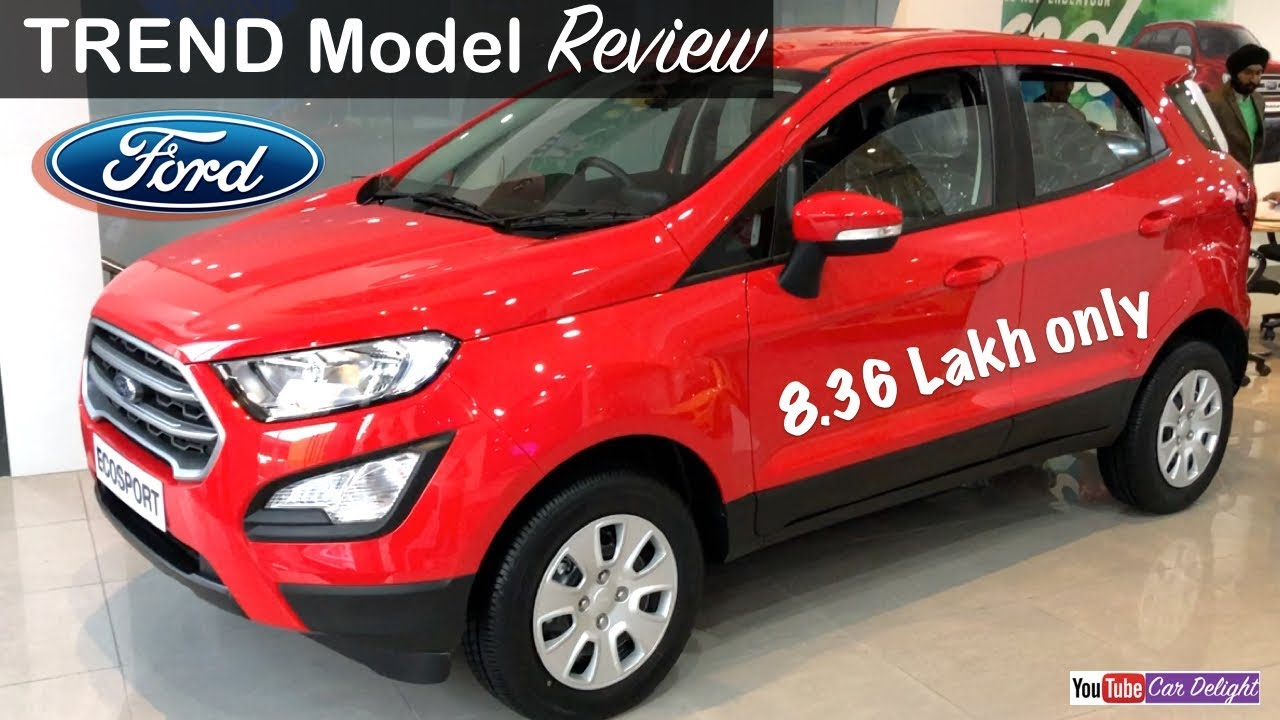 New Ecosport 2018 Trend Model Interiorexteriorfeatures And Review New Ecosport Trend