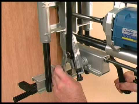 Virutex FC116U Lock Mortiser & Virutex FC116U Lock Mortiser - YouTube