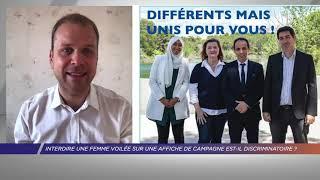 Yvelines | Interdire une femme voilée sur une affiche de campagne est-il discriminatoire ?