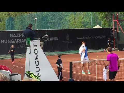 Ryan Harrison vs Andrey Kuznetsov, Gazprom Hungarian Open, Budapest, 2017-04-25