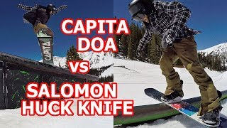 CAPITA DOA VS SALOMON HUCK KNIFE 2018