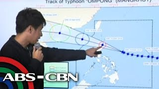 WATCH: PAGASA 8AM briefing on Typhoon Ompong | 14 September 2018