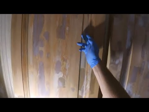 8. Готовим двери под покраску. Шпатлевка по дереву ТЕКС и AXTON - сравнение. Реставрация дверей.