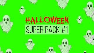 Halloween Super Pack #1 - Green Screen Animation