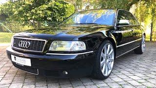 2002 audi S8 D2 V8 4.2 quattro | start up | exterior | interior | POV test drive