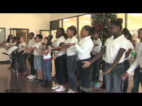 FWISD Administration Building Holiday Choir series compilation