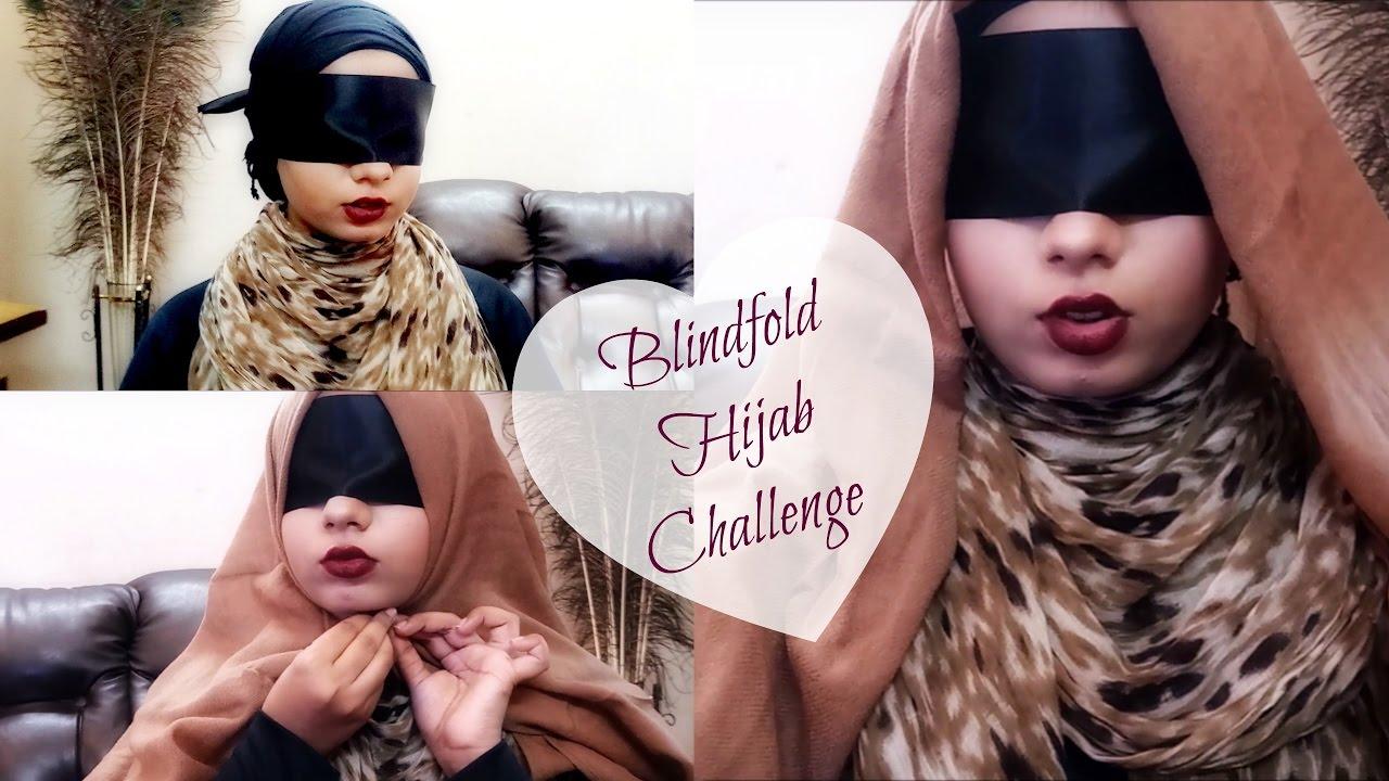Blindfold women