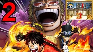 Let's Play One Piece Pirate Warriors 3 [german][blind][#2] Ruffy Versus Buggy Der Clown!