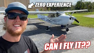 homepage tile video photo for I've Always Said I Could Fly an Airplane With NO HELP... Finally, Someone Let Me Try!!!