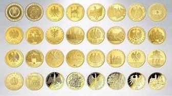 100 Euro Goldmünzen der Bundesrepublik