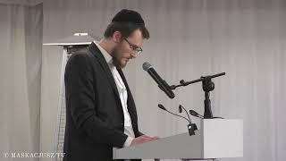 Dzień Judaizmu 2019 | Nabożeństwo | Rabin Szychowski czyta po hebrajsku fragment Ks. Ozeasza