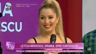 Letitia Moisescu &amp Sensibil Balkan - D A I N A (Teo Show 2019)