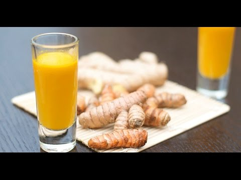 TURMERIC & GINGER WELLNESS ELIXIR TO REDUCE INFLAMMATION & BOOST BEAUTY