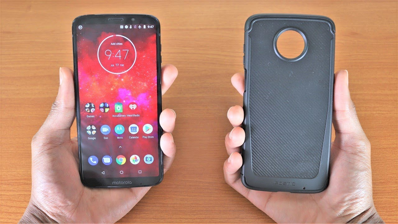 super popular 28ed1 182ce Moto Z3 Play Poetic Karbon Shield Case Review