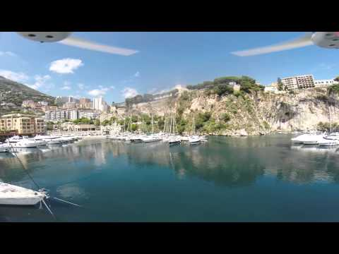 DJI Phantom 2 - Flight in Monaco