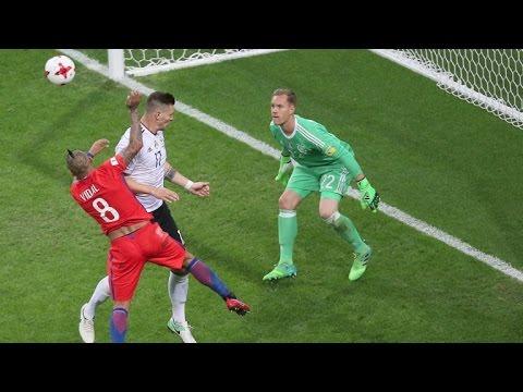 afpbr: Alemanha e Chile mais perto das semifinais