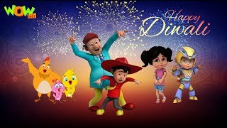 Diwali song with vir: the robot boy, chacha bhatija and eena meena deeka!