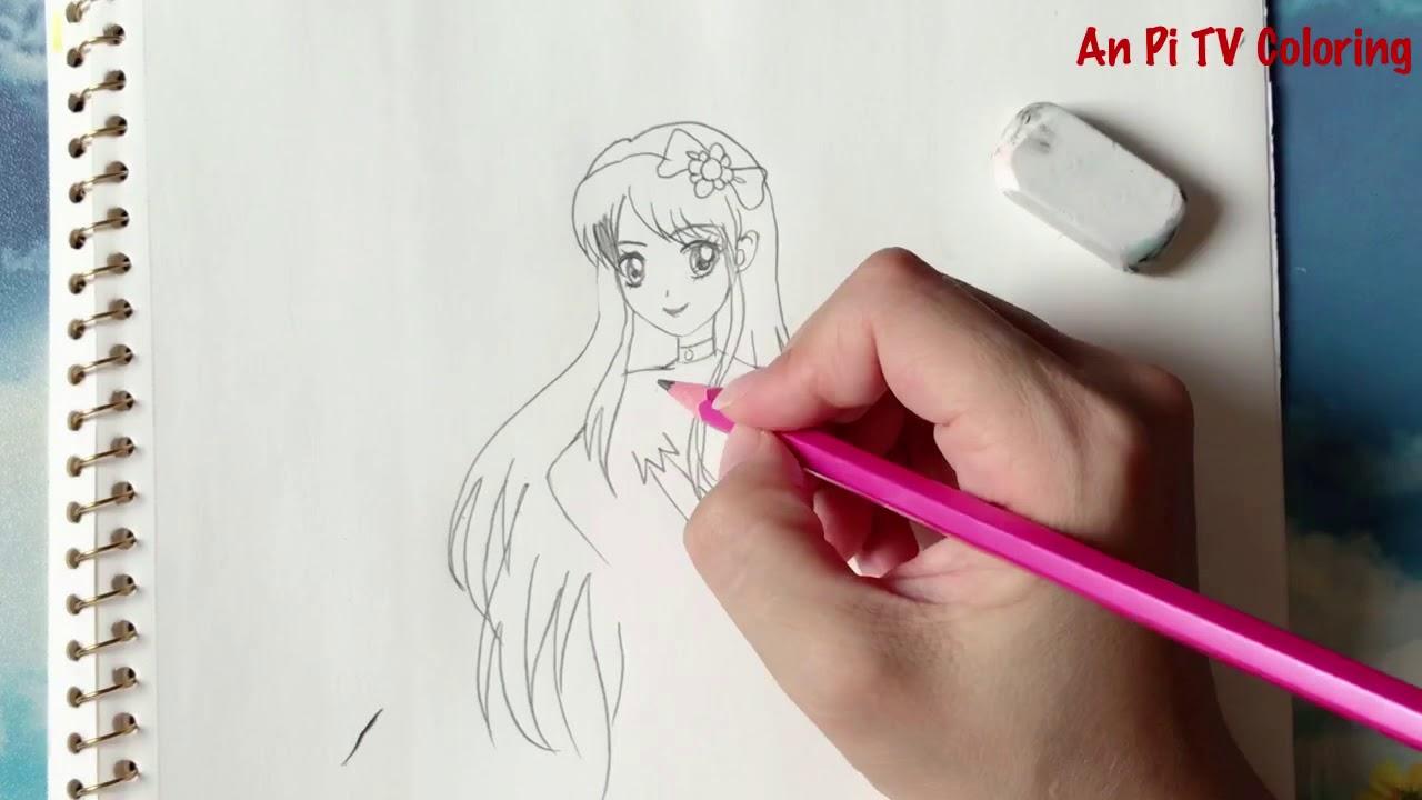 Draw Aikatsu Stars – Nhiệt huyết thần tượng – An Pi TV Coloring