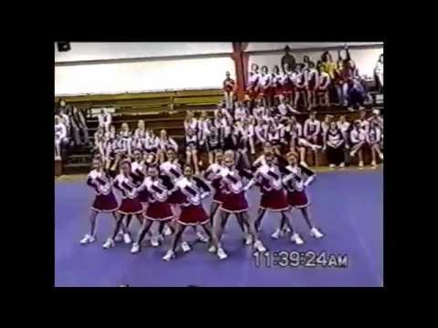2000 BAC Cheerleading Competition London Routine