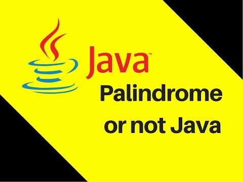 5.14-palindrome-or-not-java-tutorial