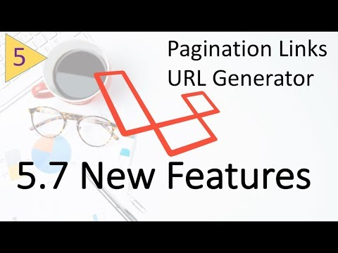 Whats new in Laravel 5.7   URL Generator and Pagination Links #5