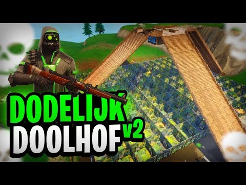 HET DODELIJKE DOOLHOF V2 - Fortnite Mini-Game met Don, Link & Duncan