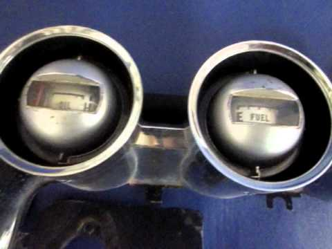 1964 1965 Ford Thunderbird Instrument Gauge Cluster with ...