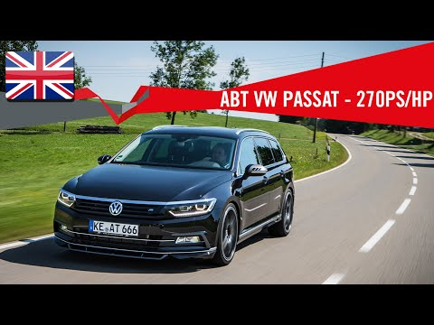 ABT VOLKSWAGEN PASSAT WITH 270 PS/HP
