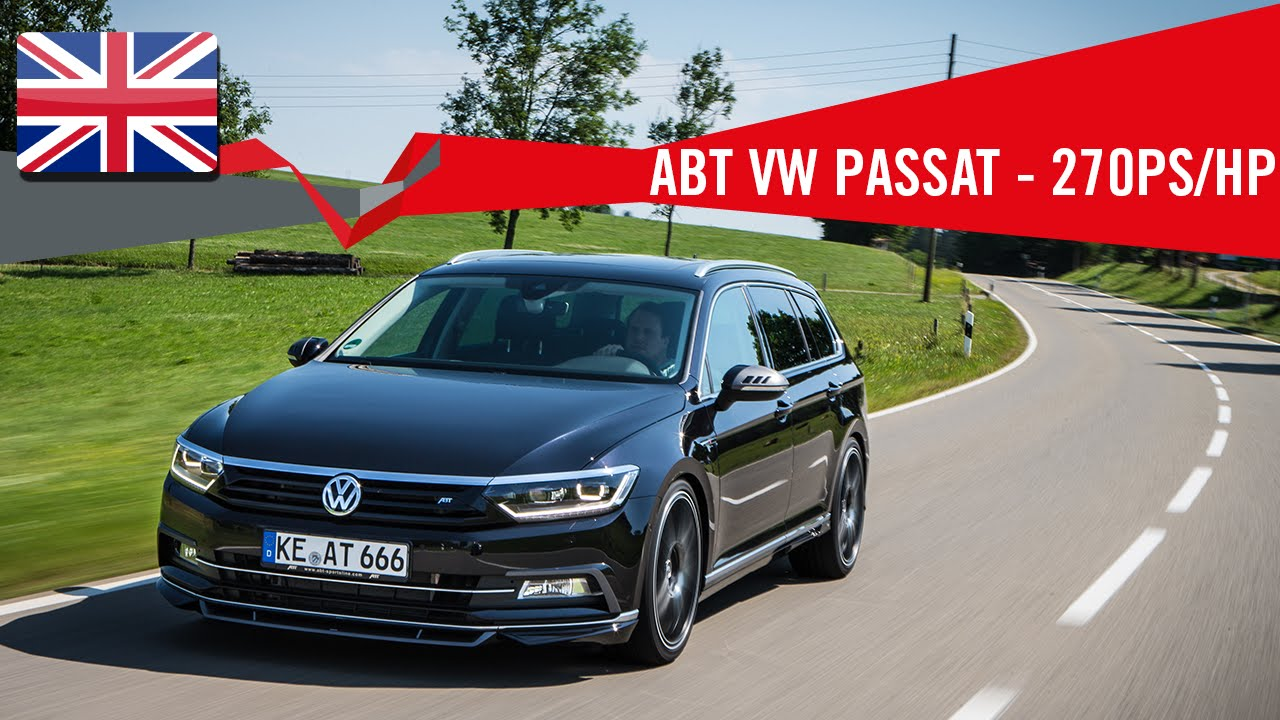 Abt Volkswagen Passat With 270 Ps Hp Youtube
