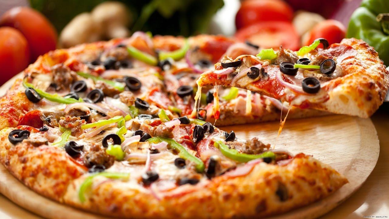 пицца в духовке без дрожжей на кефире