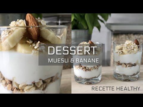 recette-healthy-santÉ---dessert-au-fromage-blanc-0%,-muesli-&-banane-🍌