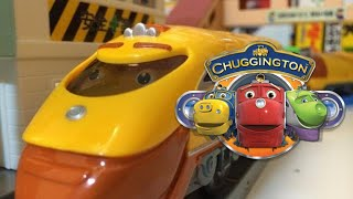 【Spielzeugeisenbahn】Chuggington Super-Lok (Action Chugger)  (00204 de)