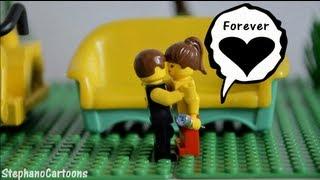 Funny Love Story - PewDiePie & Marzia (Lego Animation)