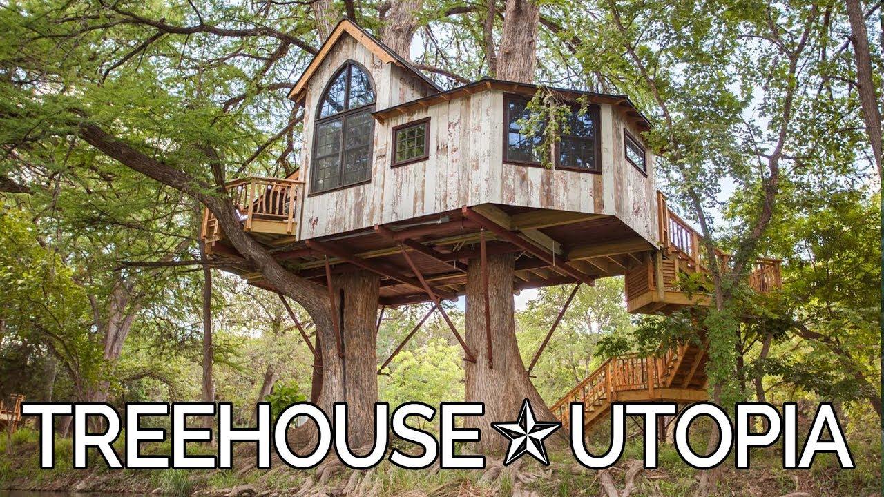 Treehouse Utopia: Texas Hill Country Retreat — Nelson Treehouse