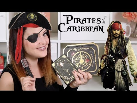 LORAC 💀 Pirates of the Caribbean 💀 Collection Review, Demo/Tutorial, Swatches AND MORE!