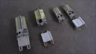 Hoe Maak je LED-Licht 12V G4 met G9-Adapter